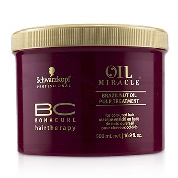 BC Bonacure Oil Miracle Brazilnut Oil Pulp Treatment (For Coloured Hair) (500ml/16.9oz)