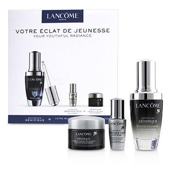 Genifique Your Youthful Radiance Set: Genifique Concentrate 30ml + Genifique Yeux Light-Pearl 5ml + Genifique Cream 15ml (3pcs)