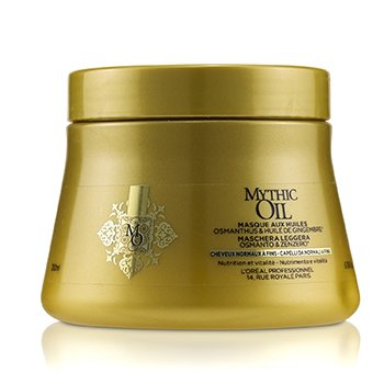 Professionnel Mythic Oil Oil Light Masque with Osmanthus & Ginger Oil (Normal to Fine Hair) (200ml/6.76oz)