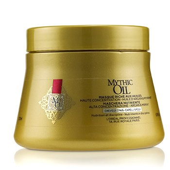 Professionnel Mythic Oil Oil Rich Masque High Concentration Argan Oil with Myrrh (Thick Hair) (200ml/6.76oz)