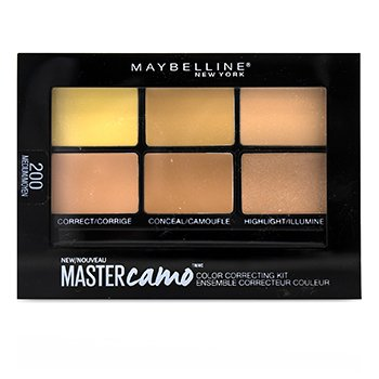 Master Camo Color Correcting Kit - # 200 Medium (6g/0.21oz)