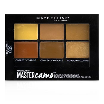 Master Camo Color Correcting Kit - # 300 Deep (6g/0.21oz)
