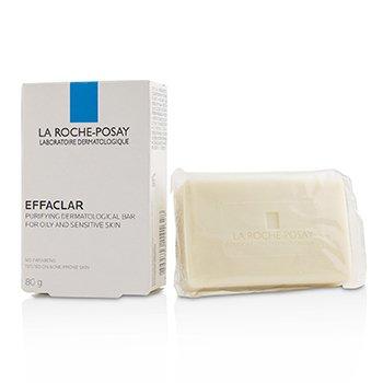 Effaclar Purifying Dermatological Bar - For Oily & Sensitive Skin (Exp. Date 11/2019) (80g/2.8oz)