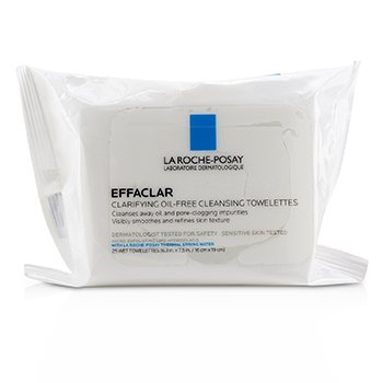 Effaclar Clarifying Oil-Free Cleansing Towelettes (25wipes)