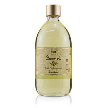 Shower Oil - Green Rose (500ml/17.59oz)