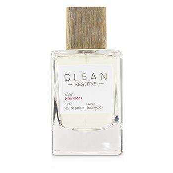 Clean Terra Woods (Reserve Blend) Eau De Parfum Spray (100ml/3.4oz)