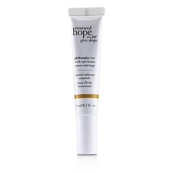 Renewed Hope In A Jar Glow Drops - Instant Radiance Ampoule (15ml/0.5oz)