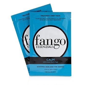 Fango Essenziali Calm Treatment Sheet Masks (4x25ml/0.83oz)
