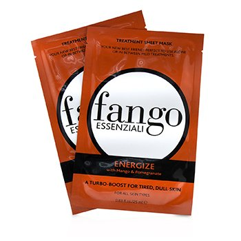 Fango Essenziali Energize Treatment Sheet Masks (4x25ml/0.83oz)