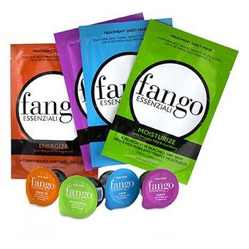 The Fango Essenziali Collection (4x Sheet Mask 25ml/0.83oz, 4x Mud Mask 25g/0.89oz) (212g/7.5oz)