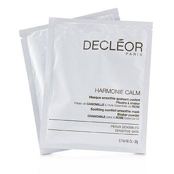 Harmonie Calm Soothing Comfort Smoothie Mask Shaker Powder - For Sensitive Skin (Salon Product) (5x20g/0.7oz)