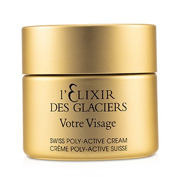 Elixir Des Glaciers Votre Visage Swiss Poly-Active Cream (Unboxed) (50ml/1.7oz)