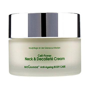 BioChange Anti-Ageing Body Care Cell-Power Neck & Decollete Cream (200ml/6.8oz)