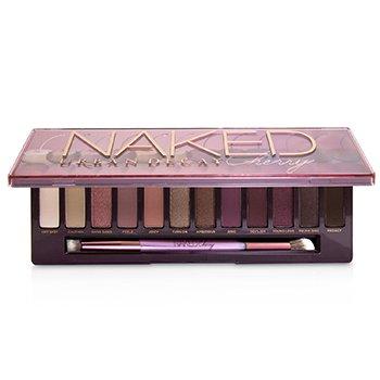 Naked Cherry Eyeshadow Palette: 12x Eyeshadow, 1x Double Ended Brush (12x1.1g/0.038oz)