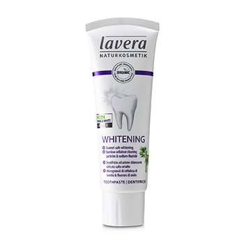 Toothpaste (Whitening) - With Bamboo Cellulose Cleaning Particles & Sodium Fluoride (75ml/2.5oz)