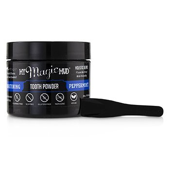 Activated Charcoal Whitening Tooth Powder - Peppermint (30g/1.06oz)