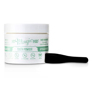 Turmeric Whitening Tooth Powder - Spearmint (40g/1.41oz)