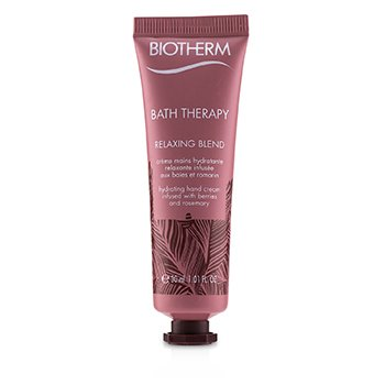 Bath Therapy Relaxing Blend Hydrating Hand Cream (30ml/1.01oz)