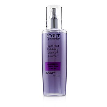 Super Fruit Exfoliating Wash-Off Cleanser with Blueberries, Grape Skin & Acai (150ml/5.1oz)