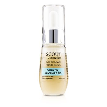 Cell Renewal Peptide Serum with Green Tea, Ginseng & Fig (30ml/1oz)