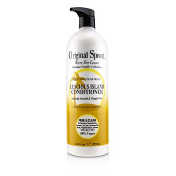Tahitian Family Collection Luscious Island Conditioner (Instantly Smooth & Tangle Free) (975ml/33oz)