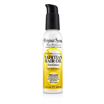Tahitian Family Collection Tahitian Hair Oil (For Soft, Strong Healthy Hair) (118ml/4oz)