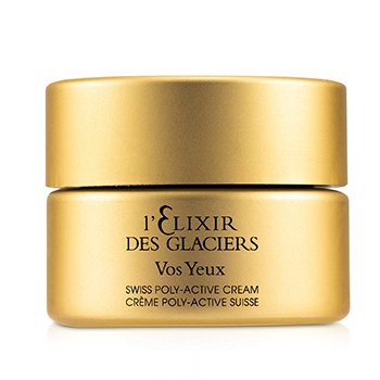Elixir des Glaciers Vos Yeux Swiss Poly-Active Eye Regenerating Cream (Unboxed) (15ml/0.5oz)