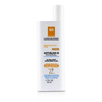 Anthelios 50 Mineral Tinted Ultra Light Sunscreen Fluid (Exp. Date 03/2020) (50ml/1.7oz)