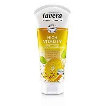 Body Wash - High Vitality (Organic Orange & Organic Mint) (200ml/6.6oz)