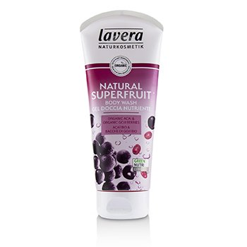 Body Wash - Natural Superfruit (Organic Acai & Organic Goji Berries) (200ml/6.6oz)