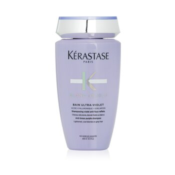 Blond Absolu Bain Ultra-Violet Anti-Brass Purple Shampoo (Lightened, Cool Blonde or Grey Hair) (250ml/8.5oz)