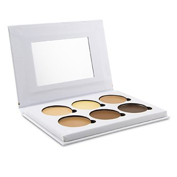 Contour & Highlight Cream Palette (6x Contour & Highlight) (24g/0.84oz)