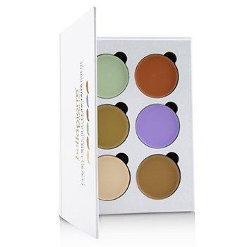 Color Correcting Concealer Palette (6x Concealer) (24g/0.8oz)
