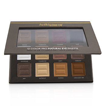 12 Color Pro Natural Eye Palette (12x Eyeshadow) (21.3g/0.73oz)