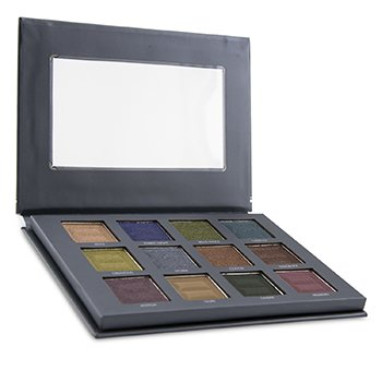 12 Color Pro Jewel Eye Palette (12x Eyeshadow) (17.28g/0.6oz)