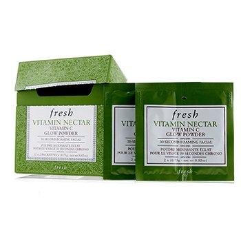 Vitamin Nectar Vitamin C Glow Powder (Packaging Slightly Damaged) (12sachets)
