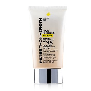 Max Mineral Naked SPF 45 Lotion (Exp. Date 03/2020) (50ml/1.7oz)