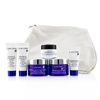 Renergie Travel Set: Redifining Lifting Cream + Full Spectrum Cream + Full Spectrum Serum + Firming Eye Cream + Genifique Eye Cream + Bag (6pcs+1bag)