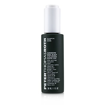 Green Releaf Calming Face Oil (30ml/1oz)