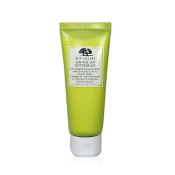 Drink Up Intensive Overnight Hydrating Mask With Avocado & Swiss Glacier Water (For Normal & Dry Skin) (75ml/2.5oz)