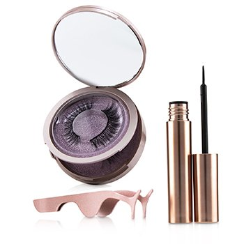 Magnetic Eyeliner & Eyelash Kit - # Romance (3pcs)