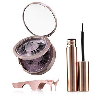 Magnetic Eyeliner & Eyelash Kit - # Attraction (3pcs)