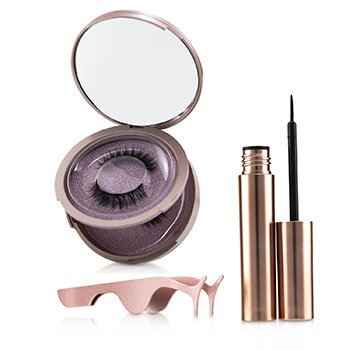 Magnetic Eyeliner & Eyelash Kit - # Charm (3pcs)