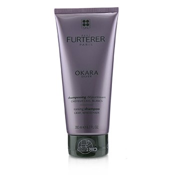 Okara Silver Silver Radiance Ritual Toning Shampoo (Gray, White Hair) (200ml/6.7oz)