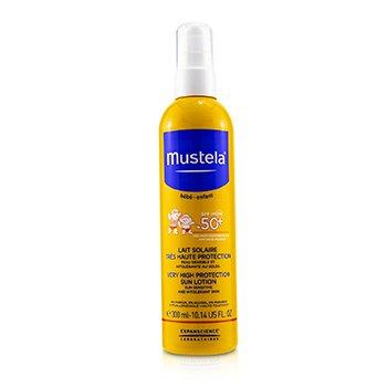 Very High Protection Sun Lotion SPF50+ - Sun Sensitive & Intolerant Skin (300ml/10.14oz)