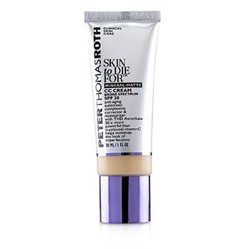 Skin to Die For Mineral Matte CC Cream SPF 30 - #Light (Exp. Date 05/2020) (30ml/1oz)