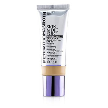 Skin to Die For Mineral Matte CC Cream SPF 30 - #Tan (Exp. Date 05/2020) (30ml/1oz)