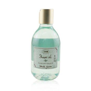 Shower Oil - Delicate Jasmine (Plastic Bottle) (300ml/10.1oz)