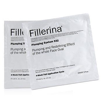 Fillerina 932 Plumping System - Grade 3 Plus (4x25ml/0.84oz)