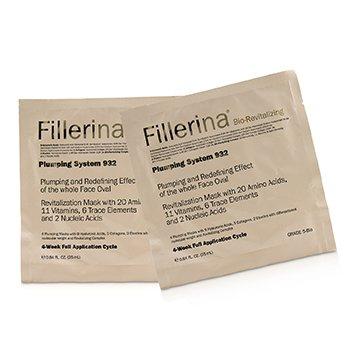 Fillerina 932 Bio-Revitalizing Plumping System - Grade 5-Bio (4x25ml/0.84oz)